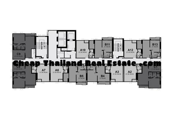12. Floor Plan 11th-35th Fl